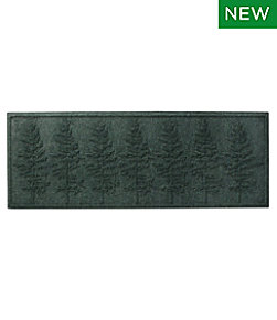Everyspace Recycled Waterhog Runner, Fir Trees